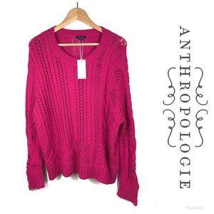 NWT ANTHROPOLOGIE SPLENDID Sweater Sz M $178!